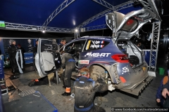 WRC 2018 - MONTECARLO RALLY - Service Park @ Gap