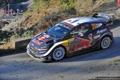 WRC 2018 - MONTECARLO RALLY - SS 15-17 La Cabanette-Col de Braus